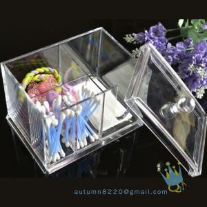 Quality acrylic cosmetic organizer boxacrylic magazine organizer wholesale