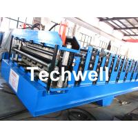 Quality Double Layer Roll Forming Machine For Roofing Sheet Forming Machine With Hydraulic Cutting wholesale