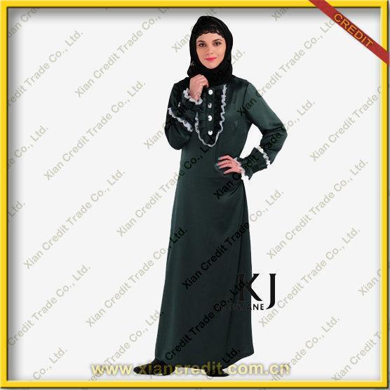 Cheap 2012 New Design Abaya Kaftan for Women    KJF036 for sale