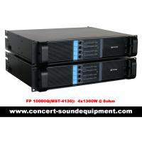 Quality 4 Channel Switch Mode Amplifier 4 x 1300W FP 10000Q For Line Array Speakers In Concert wholesale
