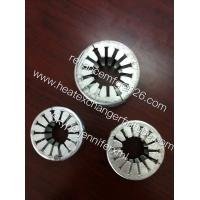 China Galvanized Steel Sheet Circular Spacer Rings For Embedded G Base Fin Tubes on sale