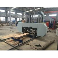 Quality CNC industrial heavy duty big size wood horizontal band sawmill woodworking machinery wholesale