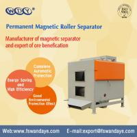 Quality Dry Type Magnetic Roller Separator Series Permanent Magnetic Separator For Minerals Quartz Feldsparsand wholesale