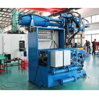 Quality Sensor Control Horizontal Rubber Injection Molding Machine 550 Ton Dual Stages Feeding System wholesale