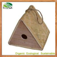Quality Chinese 100% Natural Hanging Bird Nest for Garden Decoration and Eco Garden Products wholesale