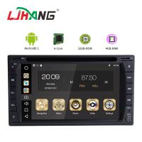 Quality Multipoint Screen Double Din Dvd Player , PX6  8core Android Car Dvd Player Gps Navigation wholesale