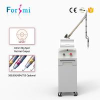 Quality 1500mj Passive Q-switched Laser Tattoo Removal Machine with Manufacturer Price wholesale