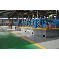 Quality Automatic Diameter 13-50 x 0.6-2 mm steel plate ERW pipe mill line workshop machine to make square tube wholesale
