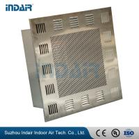 China Tight Seal HEPA Filter Terminal Box Removable Perimeter Trim / Protective Grill on sale