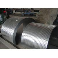 China Zinc Coated Steel Conveyor Cover Inclined Fixed Rubber Conveyor Belt on sale