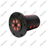 Quality BSP thread 6 passages high pressure hydraulic rotary union for lifting equipment wholesale