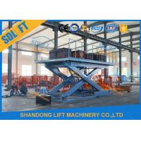 Buy cheap Portable Scissor Car Lift Hydraulic Scissor Car Platform Lift Stationary Scissor Elevator from wholesalers