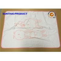 Quality Unisex Baby Warm Outdoor Blanket , 2 Layers 100% Cotton Jersey Baby Blanket wholesale