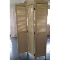 Quality Foldable 3 Panels Wooden Decorative Screens Room Divider Partition Wall wholesale