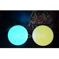 Quality Wax Ball Outdoor Round Shape Led Ball light eco - friendly , recyclable wholesale
