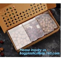China paper nut packaging box,Corrugated Bolt And Nut Packaging Box,Kraft Paper gift box with clear pvc window stand up for ca on sale