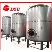 Quality 1500L Vertical SS Bright Beer Tank Flat Bottom , Jacketed Fermentation Tank wholesale