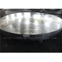 Quality OD1935mm Carbon Steel ASTM A105 Forged Disc Normalized Heat Treatment wholesale