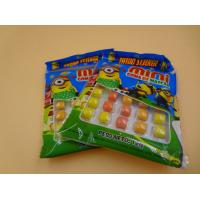Cheap Mini Round Colorful Mixed Chewing Gum Candy For Kids 12g Bag Packed for sale