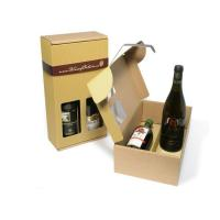 China Factory customized paper wine packaging box for 2 bottle on sale