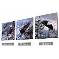 Quality Frameless PET 3d Lenticular Image / Animal 3d Lenticular Christmas Cards For Decoration wholesale