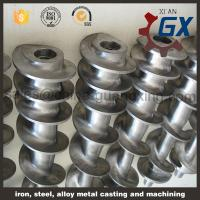 China parallel screw with nature hard after high temperature twin screw for extruder on sale