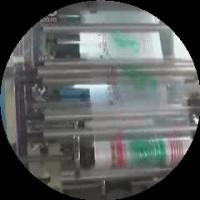 Cheap Four Color Commercial Printing Machine 50m / Min No. YT-4600 for sale