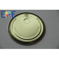 Quality Beverage Tin Can Lids Food Grade With 307# , Full Open Steel EOE wholesale