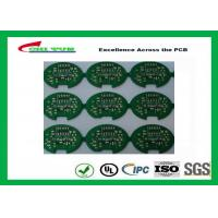 Quality 2 Layer Lead Free HASL Custom Printed Circuit Board PCB Material FR4 1.6MM Green Solder Mask wholesale