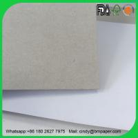 China 2017 Hot Sale 250gram 300gram 350gram white duplex paper board with gray back on sale