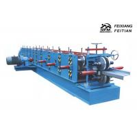 China PLC Control C&Z Purlin Forming Machine , Cold Roll Forming Equipment For Construction on sale