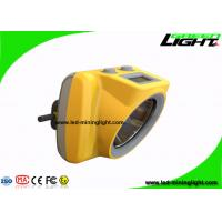 Quality Energy Saving Cordless Cap Lamp , Mining Hard Hat Lights USB Charger Handy Switch wholesale