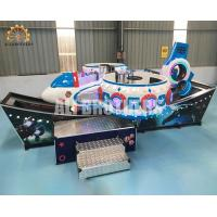 Quality 360 Rotating Children Flying Car Ride Theme Park Space Design 2.5 Kw Power wholesale