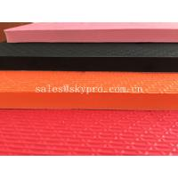 China Die Cut Closed Cell Foam Rubber Sheets , High Elastic Resilience Eva Slipper / Eva Sandles on sale
