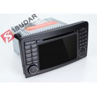 Cheap Mercedes Benz Car Audio Gps Navigation , Mercedes Ml Dvd Player With Dual CANbus for sale