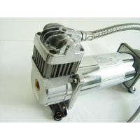 China 150PSI Chrome 1.75CFM Heavy Duty Portable Air Shock Compressor 12v With Air Tank on sale