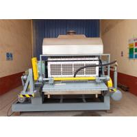 Quality 32 Chunks Paper Egg Tray Machine For Packing Industry Low Energy Consume wholesale