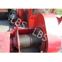 Quality Oil Field Downhole Operation Offshore Winch Workover Rig Winch Steel Wire Rope wholesale