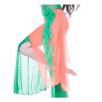 Quality Elegant Mesh Belly Dancing Hip Scarves Costumes Suit , Modern Belly Dance Wear wholesale