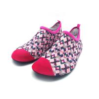 Quality Flexible Red Aqua Foot Water Shoes Outside Pool And Beach Shoes Cozy Feel wholesale