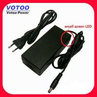Quality AC100-240V DC Switching 12V 5A Power Adapter For LED Strip , Laptop Power Adapter wholesale