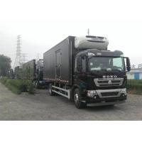 Quality Professional Refrigerated Closed Van Truck White / Red / Black Freezer Box Truck wholesale