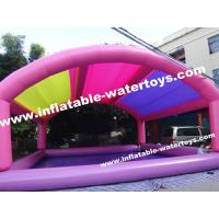 China 0.9mm PVC Tarpaulin Inflatable Swimming Pool with mobile Tent on sale