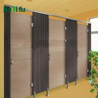 China Wood grain toilet stalls HPL compact laminate water fire proof and durable on sale