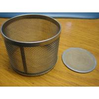 Cheap Stainless Steel 304 or 316 Wire Mesh Strainer with 1 to 500 mesh/inch, Filter Rating: 90% for sale