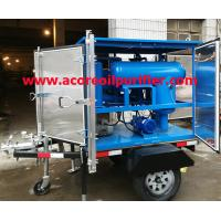Buy cheap Mobile Transformer Oil Purification Plant Company,Oil Treatment Machine Manufacturer from wholesalers