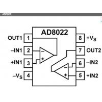 Quality AD8022ARZ  ADI NEW and ORIGIONAL 16+ SOP Package (Dual High Speed, Low Noise Op Amp) wholesale