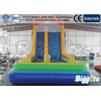 Quality Large Kids Inflatable Slides Climbing Games Amusement Park Rental wholesale