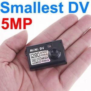 Quality Thumb-Size Smallest 5MP Micro HD DVR Spy Camera DV Digital Video Voice Webcam Recorder wholesale