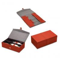 Quality Retail Paper or Cardboard Wine Packaging Boxes UV Coating for double bottles wholesale